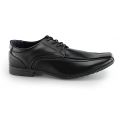 HAUSER Mens Wide Fit Lace Up Shoes Black