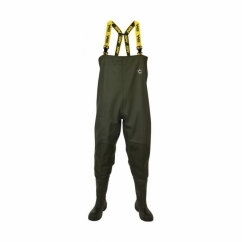 VASS VA700-77 Mens Steel S5 Non-Studded Chest Wader Green