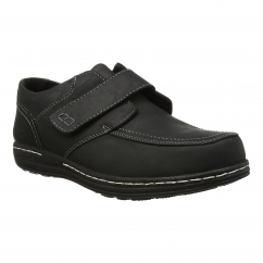 Hush Puppies VINCE VICTORY Mens Touch Fastening Shoes Black