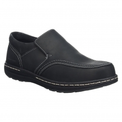 Hush Puppies VINDO VICTORY Mens Slip On Shoes Black