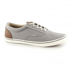 VISION Mens Canvas Trainers Frost Grey