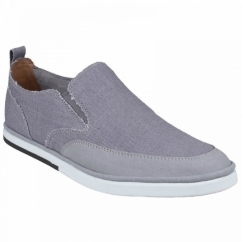 WEEKEND STYLE Mens Slip-On Shoes Grey