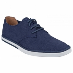 WEEKEND STYLE PLAINTOE Mens Lace Up Shoes Navy