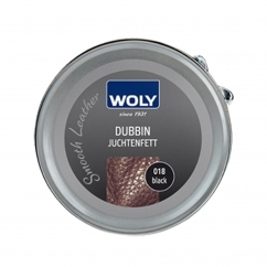 Woly 100ml Dubbin For Smooth Leather Shoes Black