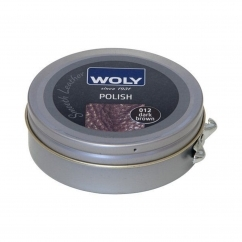 Woly Shoe Leather Polish 50ml Dark Brown