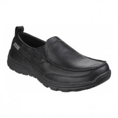WORK: RELAXED FIT - HOBBES SR Mens Shoes Black