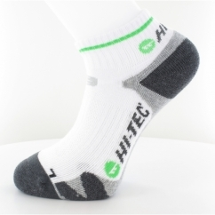 X SUPPORT COURT Mens Quarter Socks 2 Pairs White