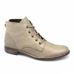 YVETTE Ladies Soft Leather Boots Taupe