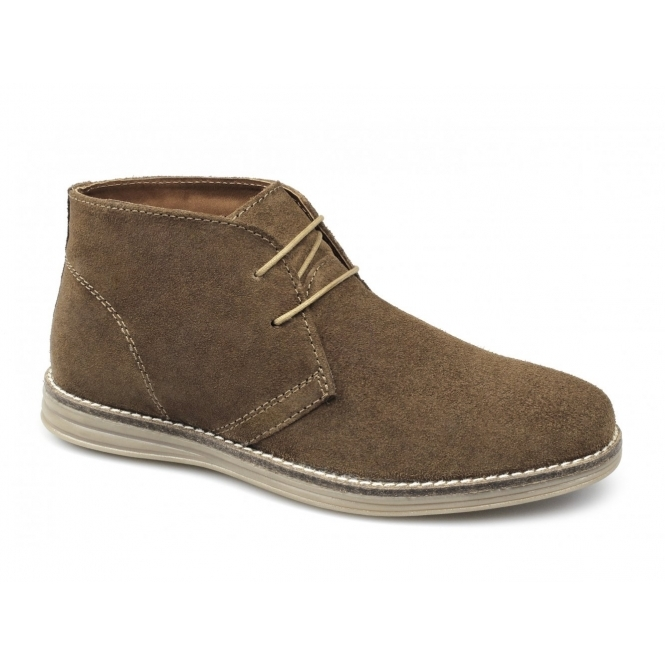 Red Tape YARROW Mens Suede Leather Desert Boots Tan